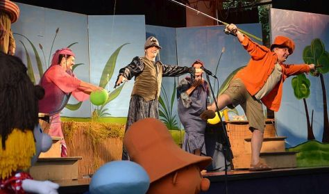 A nagy ho-ho-ho horgász, Szösz Színház