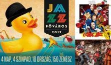 IV. JAZZFŐVÁROS Fesztivál  2019 - Pénteki napijegy