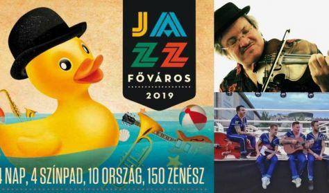 IV. JAZZFŐVÁROS Fesztivál 2019 - Vasárnapi napijegy