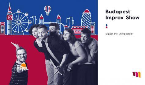 (Angol nyelvű előadás) Budapest Improv Show & re:Verse