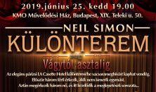 Neil Simon: Különterem (avagy vágytól asztalig)