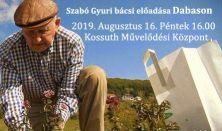 Szabó Gyuri bácsi előadása Dabason