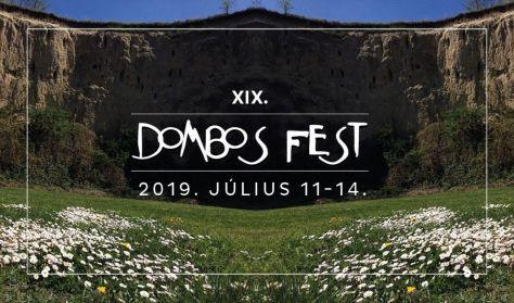 Dombos Fest 2019 - fesztiváljegy - július 11-12-13-14.