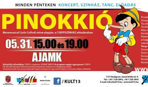 PénteK13 – Cseppszínház: Pinokkió