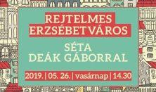Rejtelmes Erzsébetváros – Séta Deák Gáborral – az Erzsébetvárosi Zsidó Történeti Tár (Csányi utca 5.