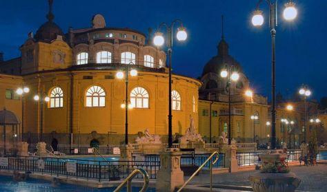 Késő esti koncert és fürdőzés a Széchenyi Fürdőben