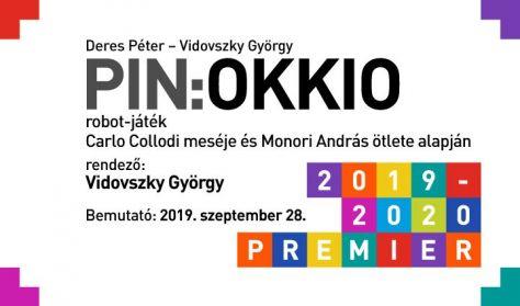 Carlo Collodi - Deres Péter - Vidovszky György: PIN:okkió