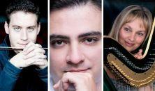 MVM Karácsonyi Koncert, Baráti Kristóf (hegedű), Vigh Andrea (hárfa) és Balázs János (zongora)