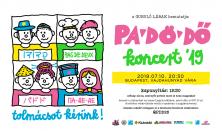 PA-DÖ-DŐ - Tolmácsot kérünk! koncert '19
