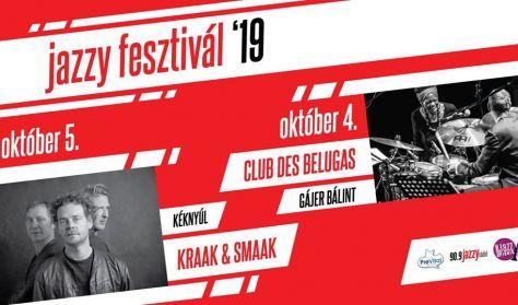 Jazzy Fesztivál 2019 - Kraak&Smaak Live Band, Kéknyúl