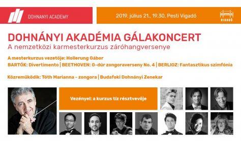 Dohnányi Akadémia Gálakoncert - Egy hangverseny, tíz karmester