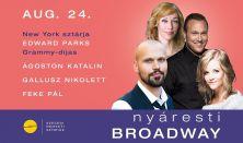 Nyáresti Broadway - musical est