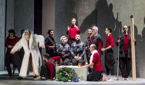 Borisz Davidovics síremléke - Újvidéki Színház előadása