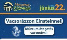 Vacsorázzon Einsteinnel! - Múzeumok Éjszakája
