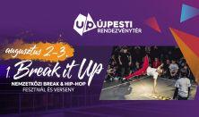 Break it UP Fesztivál - Szombati napijegy - Elővételes