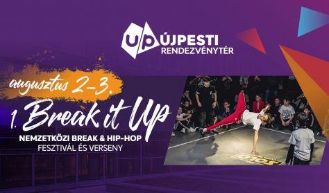Break it UP Fesztivál - Szombati VIP jegy