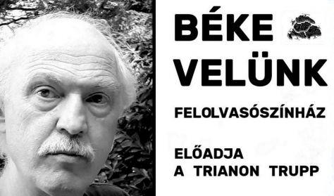 Halasi Zoltán: Béke velünk (felolvasószínház)