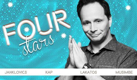 Four stars - Janklovics, KAP, Lakatos, Musimbe, vendég: Elek Péter