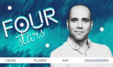 Four stars - Csenki, Felméri, Kap, Szomszédnéni, vendég: Lakatos László