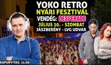 Yoko Retro Nyári Fesztivál Július / Vendég - Desperado