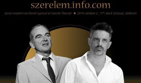 szerelem.info.com - zenés irodalmi est