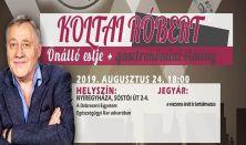 Koltai Róbert Önálló Estje + gasztronómiai élmény