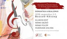 Alpokalja Művészeti Napok - VI. Bozsoki Zenei Fesztivál - Az 'International Young Soloists' koncert