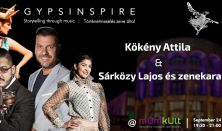 Gypsinspire koncert – Közreműködik:  Kökény Attila
