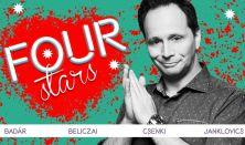 FOUR STARS - Badár, Beliczai, Csenki, Janklovics, vendég: Musimbe Dávid Dennis