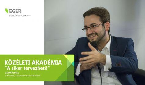 Közéleti Akadémia előadássorozat:Önbizalmunk (ál)arcai - Limpár Imre szakpszichólogus előadása