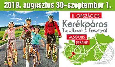 II. Országos Kerékpáros Találkozó és Fesztivál - 3 napos felnőtt bérlet