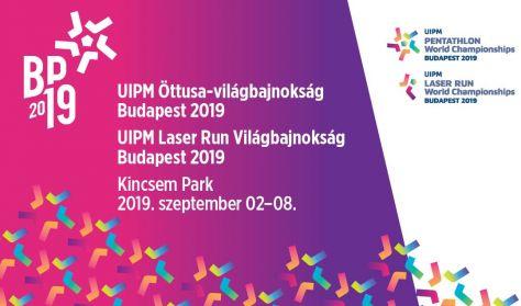 UIPM Öttusa-világbajnokság és UIPM Laser Run Világbajnokság, Budapest 2019 - Hétfő