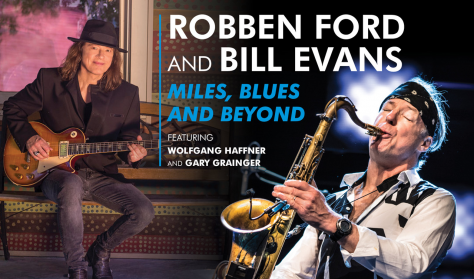SopronDrum: ROBBEN FORD/ BILL EVANS - BLUES, MILES AND BEYOND