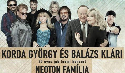 Két legenda egy estén - Korda György és Balázs Klári, Neoton Família