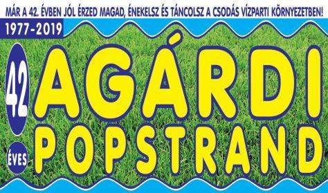 Agárdi Popstrand 2019 - VASTAG CSABA, BOKA BOOGIE BAND, ARATÓ VIDEO DISCO