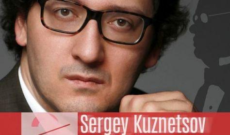 V4 Nemzetközi Zongorafesztivál - Sergey Kuznetsov szólóestje