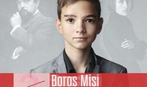 V4 Nemzetközi Zongorafesztivál - Boros Misi matinékoncertje