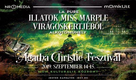 Agatha Christie Fesztivál - Illatok Miss Marple virágoskertjéből - fürdősó készítés Laurával