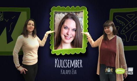 Kulcsember - Kalapos Éva, avagy az irodalom és az improvizációs színház találkozása