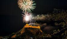 Történelmi lovasjátékok &mongol lovaskaszkadőr show, ünnepi tűzijátékkal a Sümegi Várban
