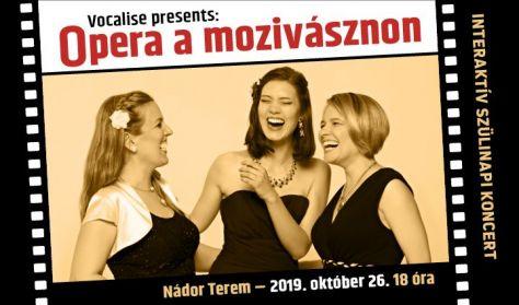 Vocalise presents: Opera a mozivásznon