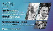 ŐK2EN - Talk-show Istenes Lászlóval - Vendég: Kovács István Koko és Persányi Miklós