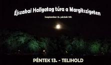 Éjszakai Hallgatag túra a Margitszigeten
