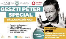 GESZTI PÉTER SPECIAL - VÁLLALKOZÓI NAP - Győr