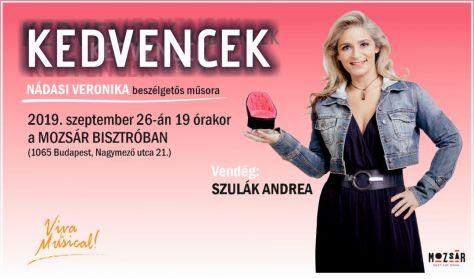 KEDVENCEK - Nádasi Veronika beszélgetős műsora - Vendég: Szulák Andrea