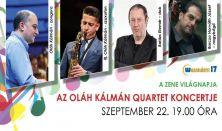 Az Oláh Kálmán Quartet koncertje