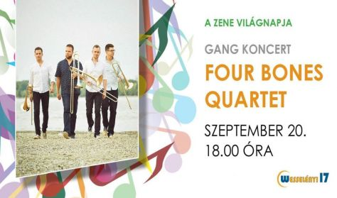 Four Bones Quartet - Gang koncert