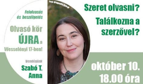 Olvasó kör Szabó T. Annával