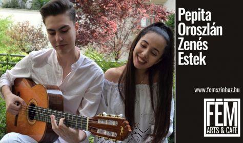 Castagno Claudia & Oláh Vilmos Latin koncert