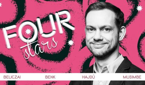 FOUR STARS - Beliczai, Benk, Hajdú, Musimbe Dennis, vendég: Fülöp Viktor